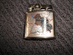 Vintage Lighter US Zone Lighter Simson W W II World by RickyBees, $33.99