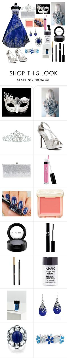 """""""Untitled #68"""" by kelechi-okehi ❤ liked on Polyvore featuring Masquerade, Kate Marie, Touch Ups, Jimmy Choo, Bare Escentuals, Paul & Joe Beaute, MAC Cosmetics, Sisley Paris, Yves Saint Laurent and NYX"""