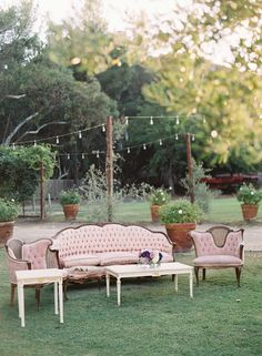type of seating to be incorporated in ceremony with regular charis and stay behind for later