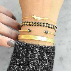 Running Fox Gold Bracelet