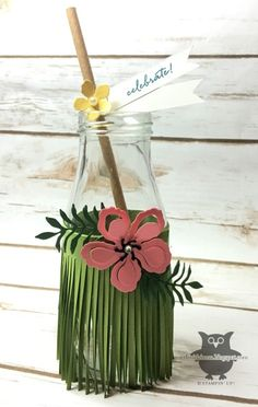 Luau bottle set