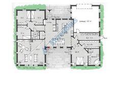 Arkitektrtade 1-planshus i vår skissbank