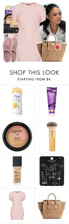"""Untitled #110"" by theoneandonlylexi ❤ liked on Polyvore featuring Victoria's Secret, NYX, tarte, NARS Cosmetics, Topshop, Motel and Michael Kors"