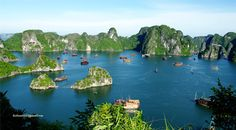 Ha Long bay, Viet Nam  #ha_long #bay