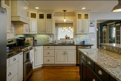 """See this amazing makeover courtesy of Kitchens Plus! What was once a starter home is a """"forever"""" home with added square footage and fabulous finishes!"""