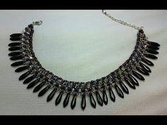 Cleopatra Ankle Bracelet  ~ Seed Bead Tutorials