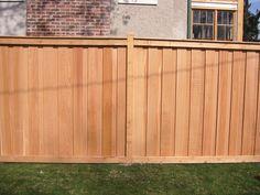 Cedar Fencing # Cedar Fencing at Home Depot~Cedar Fencing Aldergrove Bc Cedar Fence Posts, Cedar Wood Fence, Rustic Fence, Wooden Fence, Home Depot, Fence Styles, Garden Styles, Wood Fence Installation, Dog Ear Fence