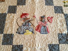 Fairy Tale Mice Quilt by BeeBeeQuilts on Etsy, $350.00
