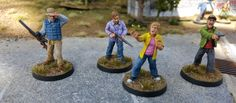 TWD All Out War play set