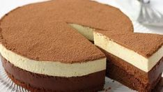 How delicious, airy and gentle this cake is! Cake The chocolate duo is very delicate, airy, tasty and beautiful. Prepare a cake-mousse for this recipe Sweet Recipes, Cake Recipes, Dessert Recipes, Yummy Treats, Delicious Desserts, Easy Cake Decorating, Sweet Pastries, Desserts To Make, Creative Cakes