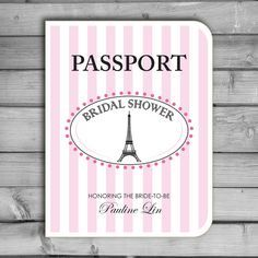 patterned paper with stamp of anchor on front get paper that has maps on it for passport look find this pin and more on parisian bridal shower