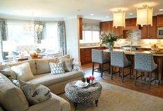 How To: Open Concept Kitchen and Living Room Décor - Modernize