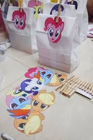 Image result for my little pony goodie bags for boys