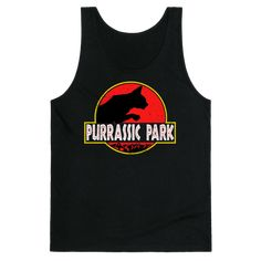 Purrassic Park Tank | Look Human