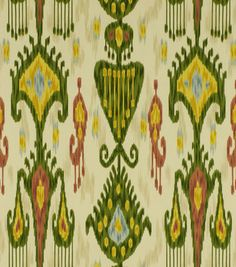 Robert Allen @ Home Print Fabric-Khandar Jewel