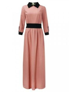 Find best long maxi dress on NewChic and show your beauty. Maxi dress with full sleeves, white floral maxi dress, v neck denim maxi dress and more maxi dresses for summer and winter are hot-sale. Denim Maxi Dress, White Lace Maxi Dress, Maxi Wrap Dress, Floral Maxi Dress, Cheap Maxi Dresses, Online Dress Shopping, Collar Dress, Elegant Woman, Chic Outfits