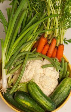 Easy Refrigerator Pickled Veggies |