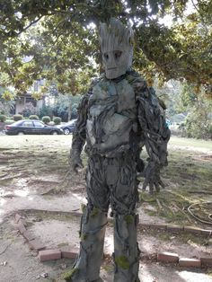 Make your own Groot costume for about $50