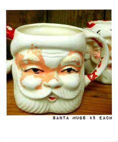 Santa Mugs $5 each