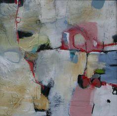 Ronds et carrés, oil on panel, 48 Paule Debois Dupuis