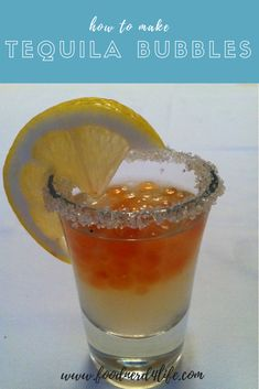 How to make Tequila Bubbles at home using spherification. Bubble Drink, Bubble Tea, How To Make Tequila, Bubble Recipe, Food Experiments, Party Finger Foods, Molecular Gastronomy, Yummy Drinks, Sweet Recipes