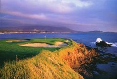 Pebble Beach golf course beautiful