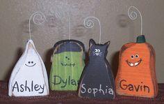 Halloween photo holders