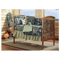 Camo Nursery - will work for both girls and boys