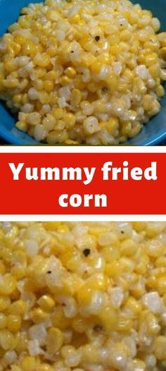 Yummy fried corn