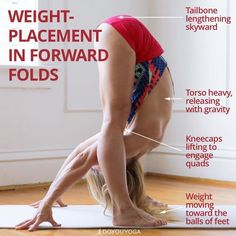 Get the most out of your forward folds with these tips � Photo by amazing DYY ambassadors @yogogirls