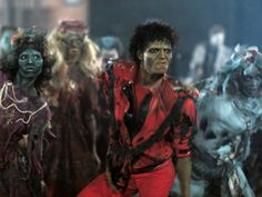 And, of course, we cannot be without the song Thriller...