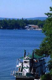 Lake Winnipesaukee - Winnipesaukee Belle cruise.