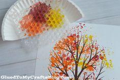 30 jesiennych inspiracji na prace plastyczne, dekoracje i inne | Mama w domu