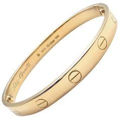 Cartier Vintage Original Aldo Cipullo Yellow Gold Love Bracelet