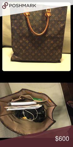 Authentic Louis Vuitton Sac Plat Tote Bagdust Bagauthentic Vuittonsaks Fifth