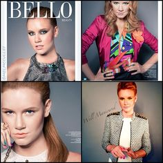 My work featured in the July issue of @BelloMag. #Gelish #AllAbouttheGlow colors used on the very sweet