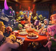 Celebrating the with this brand new loading screen! Clash Of Clans Hack, Clash Of Clans Free, Clash Clans, Princesa Clash Royale, Clash On, Hulk Avengers, Hush Hush, Game Character, Game Design