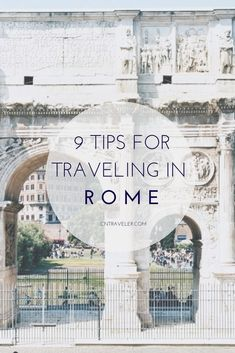 How Not to Look Like a Tourist in Rome- My addition would be don't cry in sheer joy at everything you see, touch, way or hear.  Because I most definitely be sobbing everywhere  #ItalyTravel