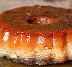Comparte Recetas - Flan de huevo y donuts