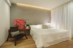 Triplex Viviane / Intown Arquitetura #bedroom #lighting