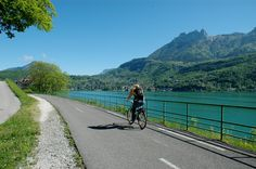 Syndicat mixte du lac d'Annecy - Tour du lac à vélo et à pied