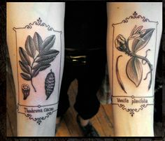 botanical tattoos, via Flickr.
