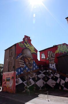 Brighton's graffiti. Photo by dochimichi.
