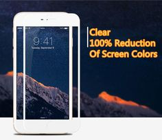 Cheap Metal White Glass Screen Protector iPhone 6 And 6 Plus IPASP03_8