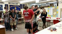 Team building activity. Can they move as a group through communication? Forelands FFA - www.OneLessThing.net