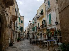 The streets of Monopoli, Italy Culture Of Italy, Holiday Destinations, Most Beautiful Pictures, Exotic, To Go, Vacation, Sunset, World, City