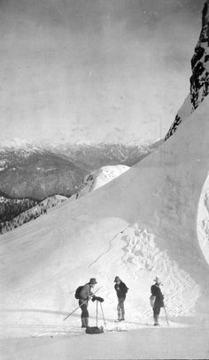 """North of Eastern Lion"". Photo taken circa 1920 by Franklin Walter Hewton, courtesy the Vancouver Archives."