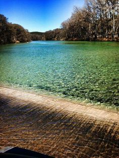 The Frio River @ Concan, TX