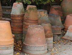 earthenware pots