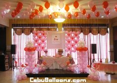 christening celebration ideas | Hannah's Party Place Balloon Decoration & Party Needs | Cebu